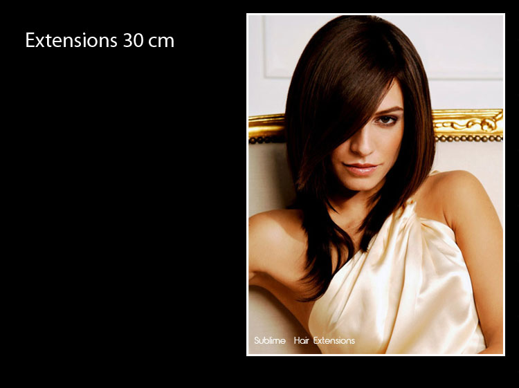 longeur extensions 30 cm