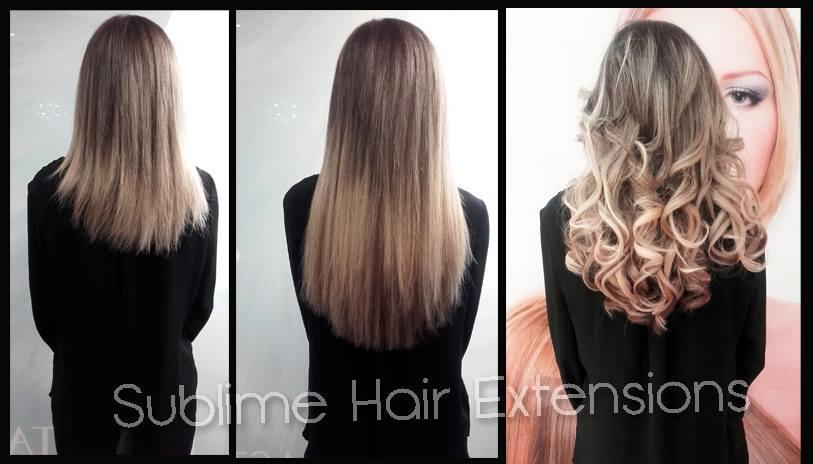 Extension cheveux naturel salon de coiffure