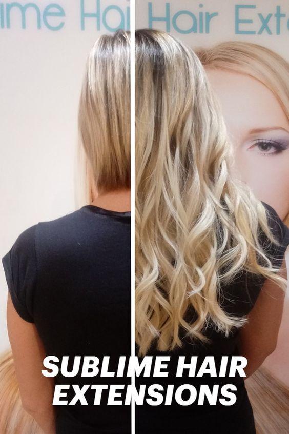 pose d'extensions cheveux liège