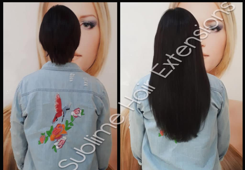 extensions cheveux keratine